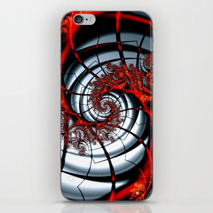 Fractal Art - Burning Web iPhone Skin