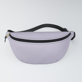 PPG Glidden Trending Colors of 2019 Wild Lilac Pastel Purple PPG1175-4 Solid Color Fanny Pack