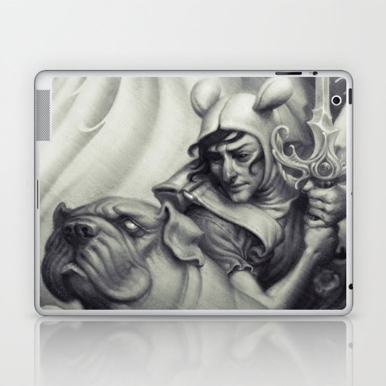 Another Castle :: Duotone Print Laptop & iPad Skin