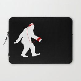 The Walk - White Laptop Sleeve