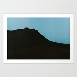 Iceland - Two brothers (Leica M3 & Kodak film) Art Print