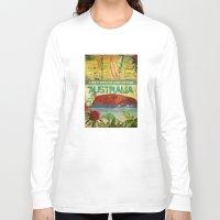 australia Long Sleeve T-shirts featuring Australia by LilianaPerez