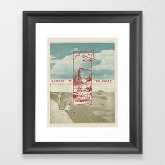 Rainfall of the World Framed Art Print