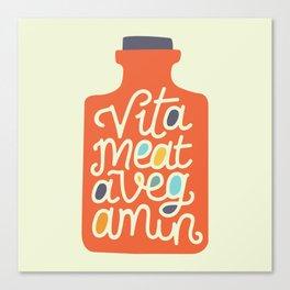 Vitameatavegamin Canvas Print
