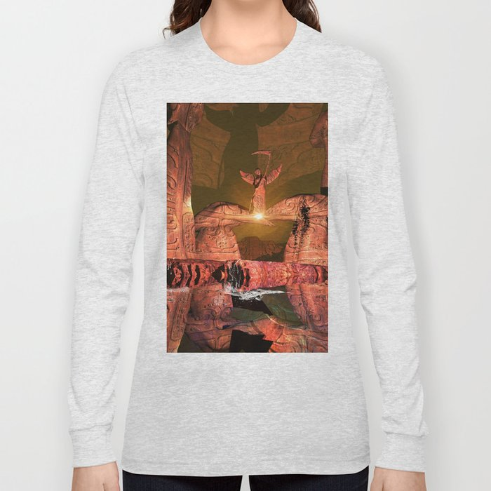 The angel of death Long Sleeve T-shirt