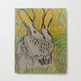 Mr. Jakalope Metal Print