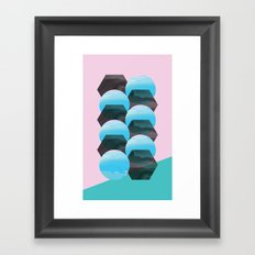 clonixina Framed Art Print