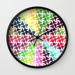 Pear frenzy Wall Clock