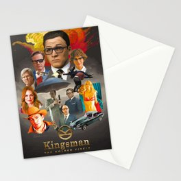 Kingsman: The Golden Circle Stationery Cards