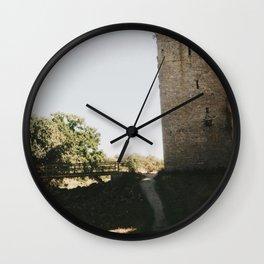 Visby City Wall Wall Clock