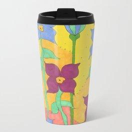 Sunshine Garden Bohemian Art Travel Mug