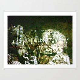 Relentless 2 Art Print
