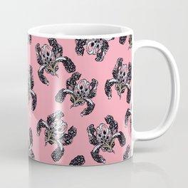 T.F TRAN PINK BUTTERFLY IRIS PINK EDITION Coffee Mug