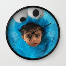 LEVi (cookie monster) Wall Clock