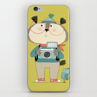 photographer iPhone & iPod Skins featuring photographer by kate hindley