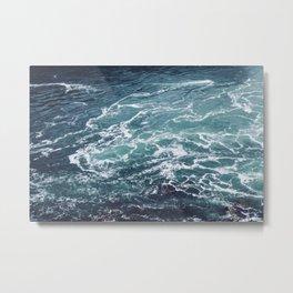 Ocean Photography | Sea | Blue Water | Seascape | Aqua Metal Print