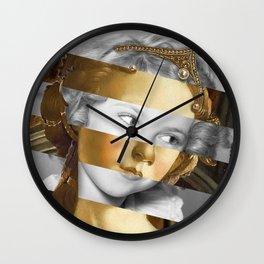 Sandro Botticelli's Fortitude & Shirley T. Wall Clock
