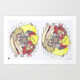 FAITH AND DECEIT  Art Print
