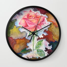A Land Beyond Borders Wall Clock