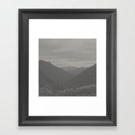 Alpine II Framed Art Print