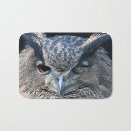 Eagle owl Bath Mat