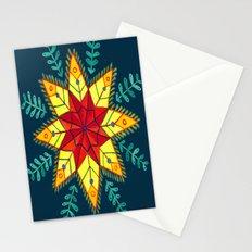 Folk Star Stationery Cards