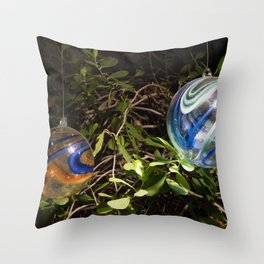 Longwood Gardens Christmas Series 101 Throw Pillow