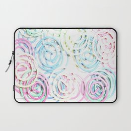 Flashy Paper Clips Laptop Sleeve