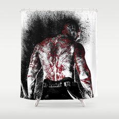 Drax the Destroyer Shower Curtain