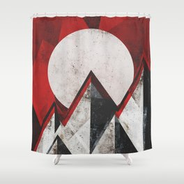 Mount kamikaze Shower Curtain