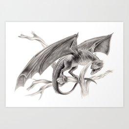Dragon Art Print