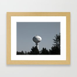 Welcome to New Hampshire Framed Art Print
