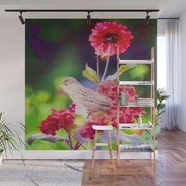 Bird Peace Garden Wall Mural