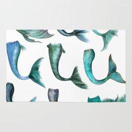 Mermaid Tails Rug