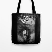 oz Tote Bags featuring Oz by Magdalena Almero