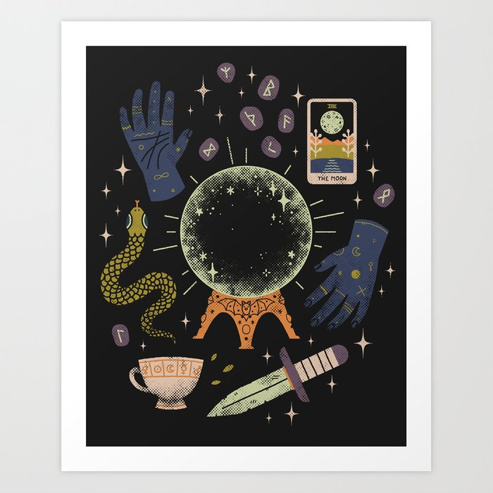 I See Your Future Art Print