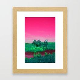 Candied Framed Art Print