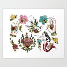 Milagros Art Print