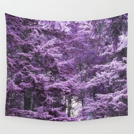 Infrared Trees Forest Wall Tapestry