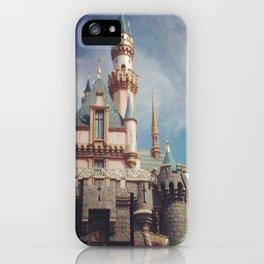 Sleeping Beauty's Castle iPhone Case