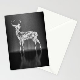 Deer in the Spotlight Stationery Cards