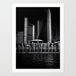 Toronto City Hall No 25 Art Print