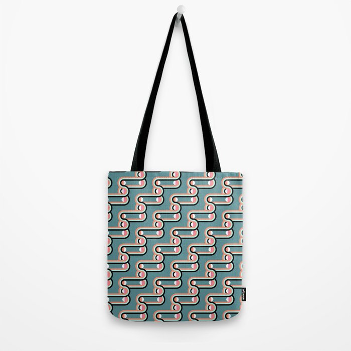 UNCHAINED PATTERN (abstract geometric) Tote Bag