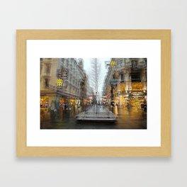 The Karntner Strasse Vienna  Framed Art Print