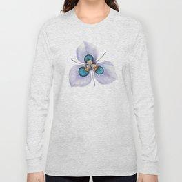 Flower Painting | MORAEA VILLAS | Watercolour | Nature Long Sleeve T-shirt