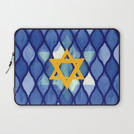 Jewish Celebration Laptop Sleeve