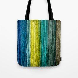 Multi Coloured Rope Tote Bag