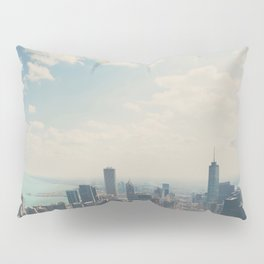 Looking down on the city ... Pillow Sham