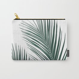 Tropical Palm Leaves #2 #botanical #decor #art #society6 Carry-All Pouch