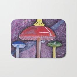 Mushroom Enlightment Bath Mat